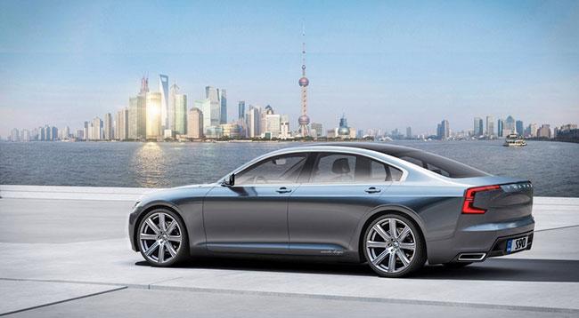 Volvo Revela O Seu Novo Sedan De Luxo