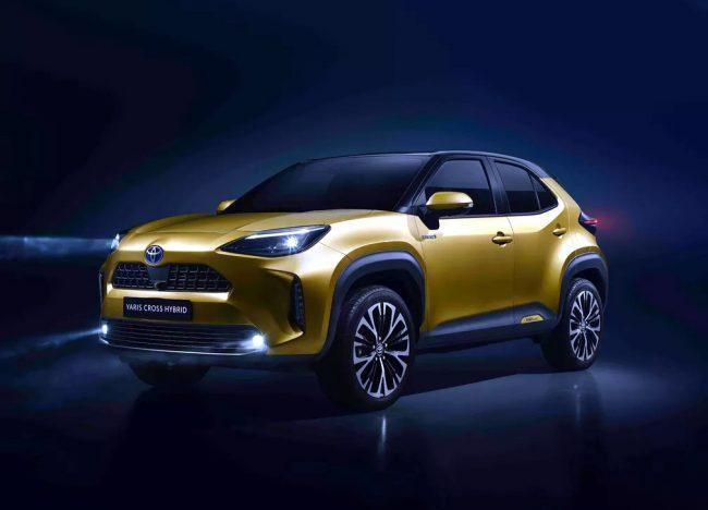 Toyota revela o inédito Yaris Cross