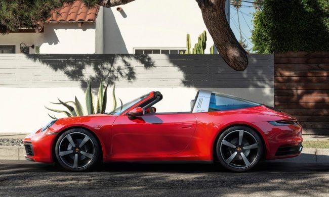 Porsche revela o novo 911 Targa, em uma transmissão online