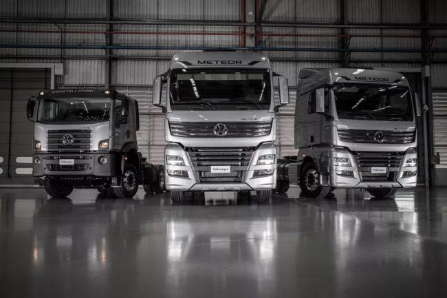 Volkswagen lança novos caminhões extrapesados