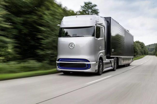 Mercedes-Benz apresenta caminhão a hidrogênio