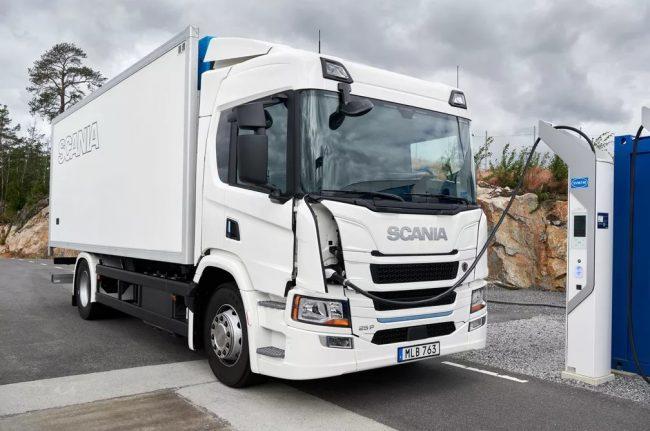 Scania lança linha de caminhões elétricos na Europa