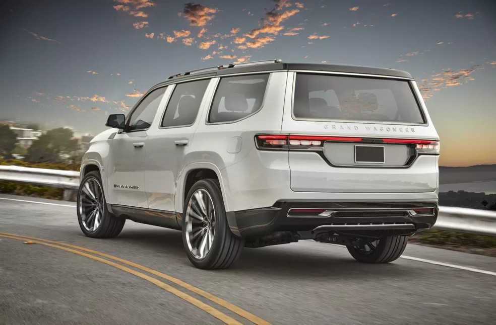 Jeep traz de volta o Wagoneer como SUV gigante de luxo