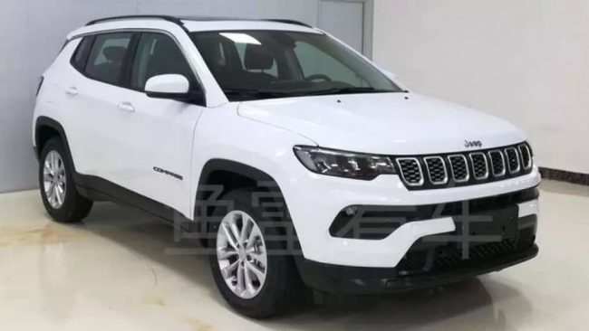 Novo Jeep Compass é revelado