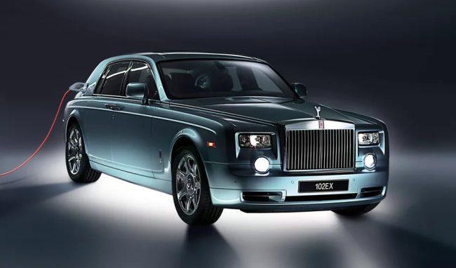 Rolls-Royce anuncia seu primeiro carro elétrico